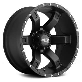 MOTO METAL - MO967 Satin Black with Clear Coat