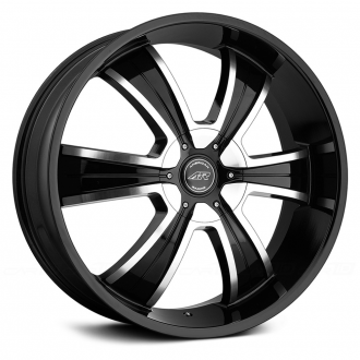 AMERICAN RACING - AR894 Gloss Black with Machined Face