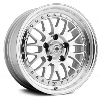 KONIG - ROLLER Silver with Machined Face