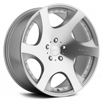 MRR - VP3 Silver with Machined Face