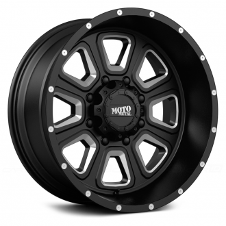 MOTO METAL - MO972 Gloss Black with Milled Accents