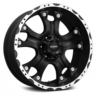 BALLISTIC - HOSTEL Flat Black with Machined Flange
