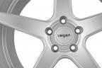 VELGEN Classic5 Matte Silver
