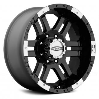 MOTO METAL - MO951 Gloss Black with Machined Bezel